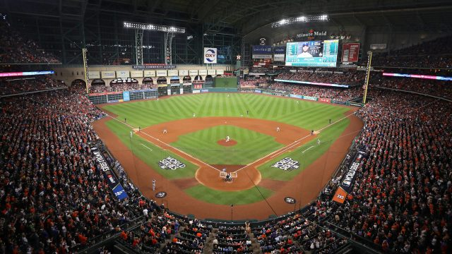 Houston Astros to allow 100% capacity starting May 25