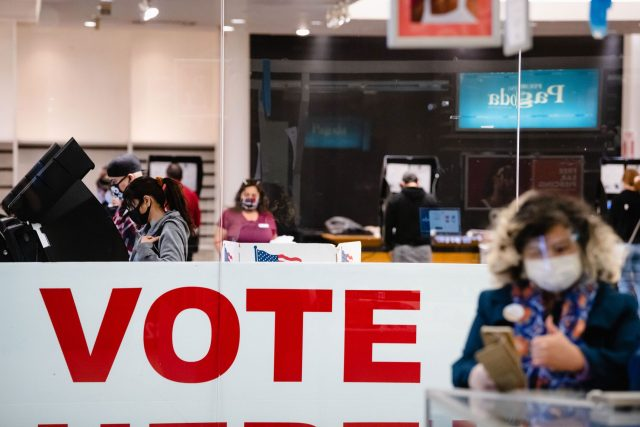 Texas lawmakers approve sweeping new voting rules in overnight vote