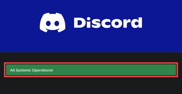 01 Discord System Status
