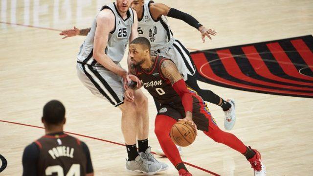 Let the Damian Lillard to the San Antonio Spurs rumors start