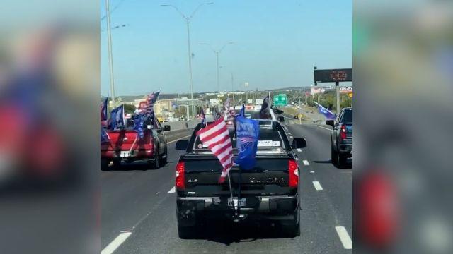Biden staffers, ex-state lawmaker sue 'Trump Train' members in dangerous Texas highway incident