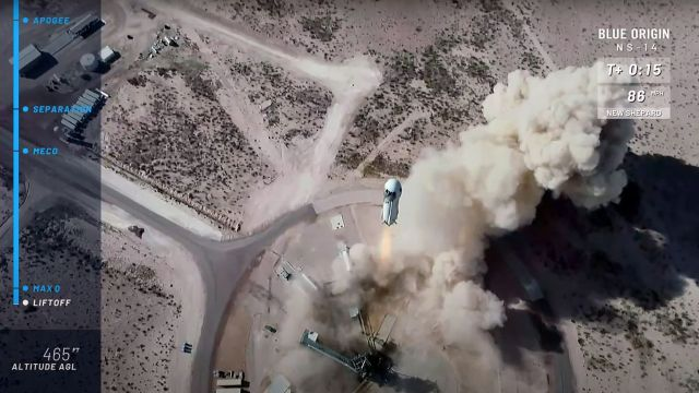 Blue Origin 'ready' for Tuesday's space launch near Van Horn