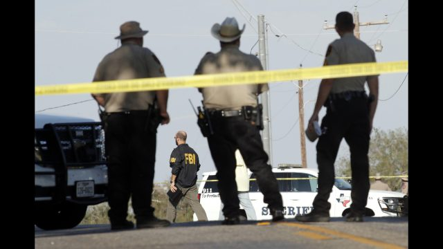 A federal judge ruled Wednesday that the government was mostly responsible for the 2017 mass shooting at a church in Sutherland Springs