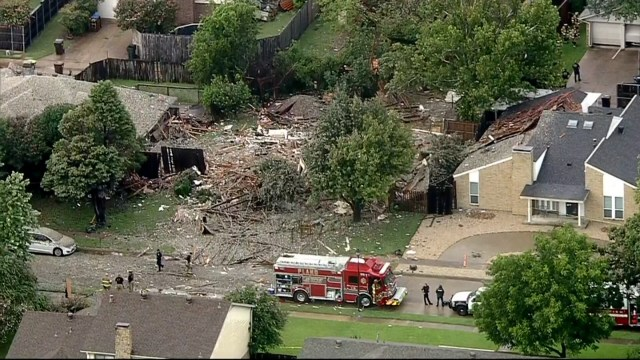 Six people were injured due to a home explosion in Plano