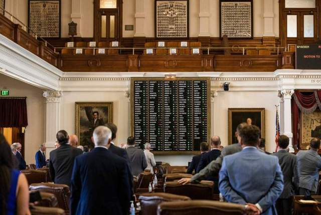 Texas House OK's GOP vote restrictions after Dems' holdout ends