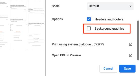 16 web page to pdf chrome windows mac
