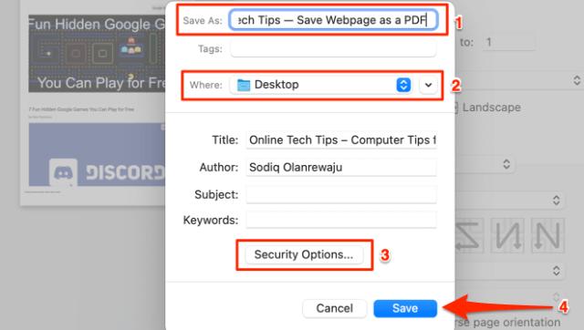 26 save webpage pdf safari mac