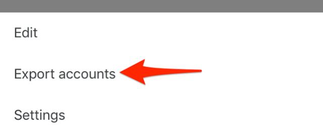 3 export accounts