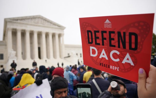 The Biden administration appealed a Texas court ruling that found the Obama-era Deferred Action for Childhood Arrivals program unlawful