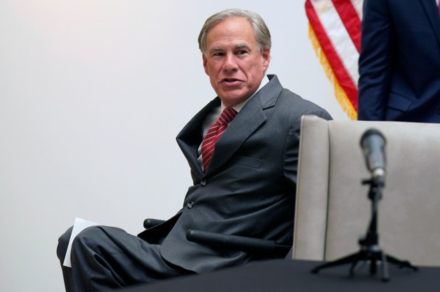 Texas governor Greg Abbott says he's committed to eliminating rapists but his state has more than 5