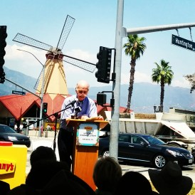 Former Arcadia mayor George Fasching admits it was a longshot.