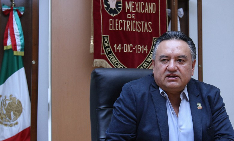 Photo of Martín Esparza, otra vez frente al SME