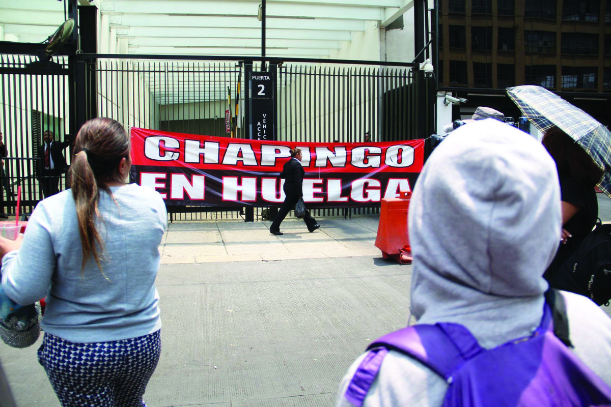 Huelga Chapingo