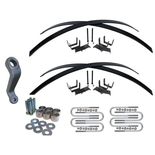 Jeep Wrangler YJ 2-3 Inch Lift Kit Long Add A Leaf Kit
