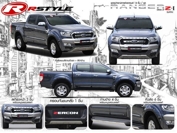 bodykit grand new avanza 2016 all kijang innova tipe q zercon z i for ford ranger rstyle racing lightbox