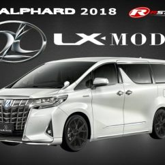 All New Alphard Kijang Innova Reborn Bodykit Lx Mode Style For Toyota 2018 Rstyle Racing Lightbox