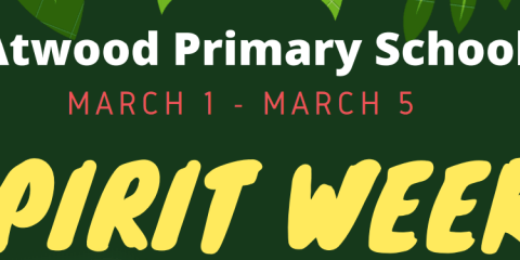 Atwood Spirit Week March 1st 2021