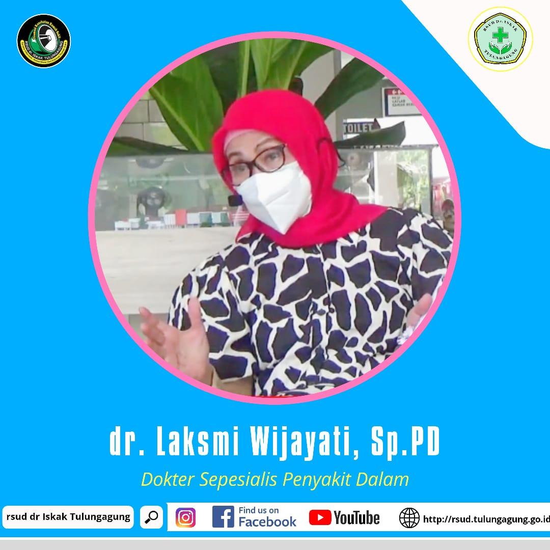 dr. LAKSMI WIJAYANTI, Sp.PD