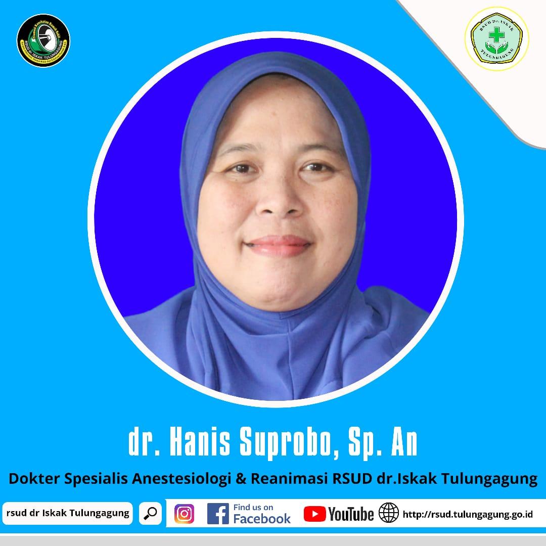 dr. HANIS SUPROBO, Sp.An