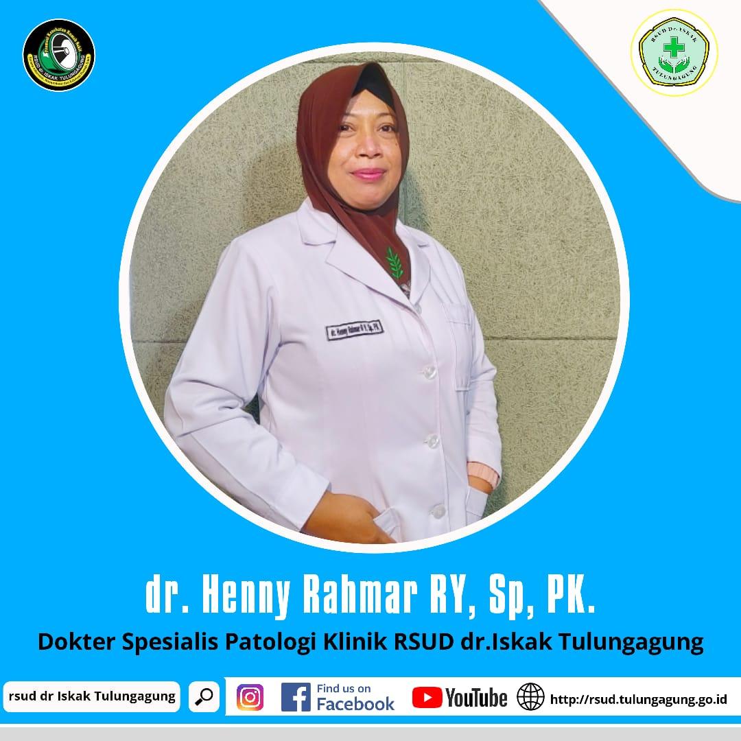 dr. HENNY RAHMAR RABY Y, Sp.PK