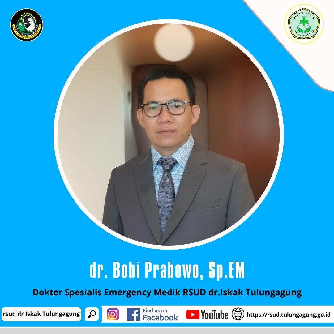 dr. BOBI PRABOWO, Sp.EM