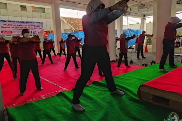 Peringati World Heart Day, RSUD dr. Iskak Turut Ikut Meriahkan Acara Senam Jantung Virtual se-Jawa Timur