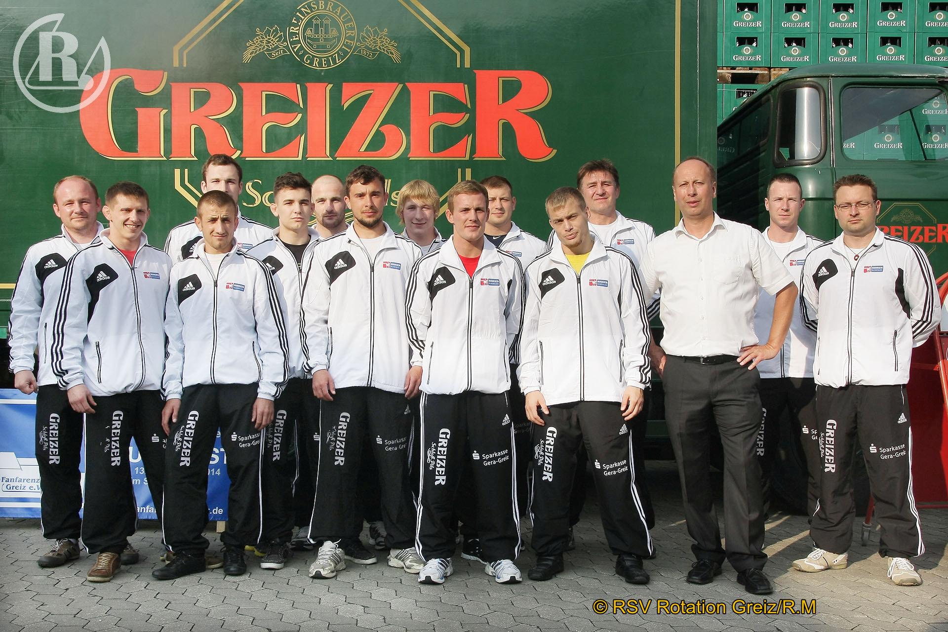 2.Bundesliga Nord: RSV Rotation Greiz gegen Ringerverein Thalheim endet 12:6