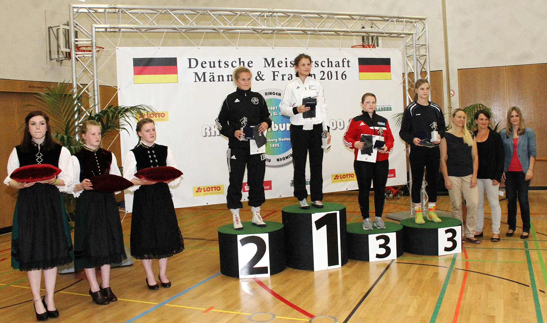 DM-Ringen: Männer und Frauen Freistil in Freiburg