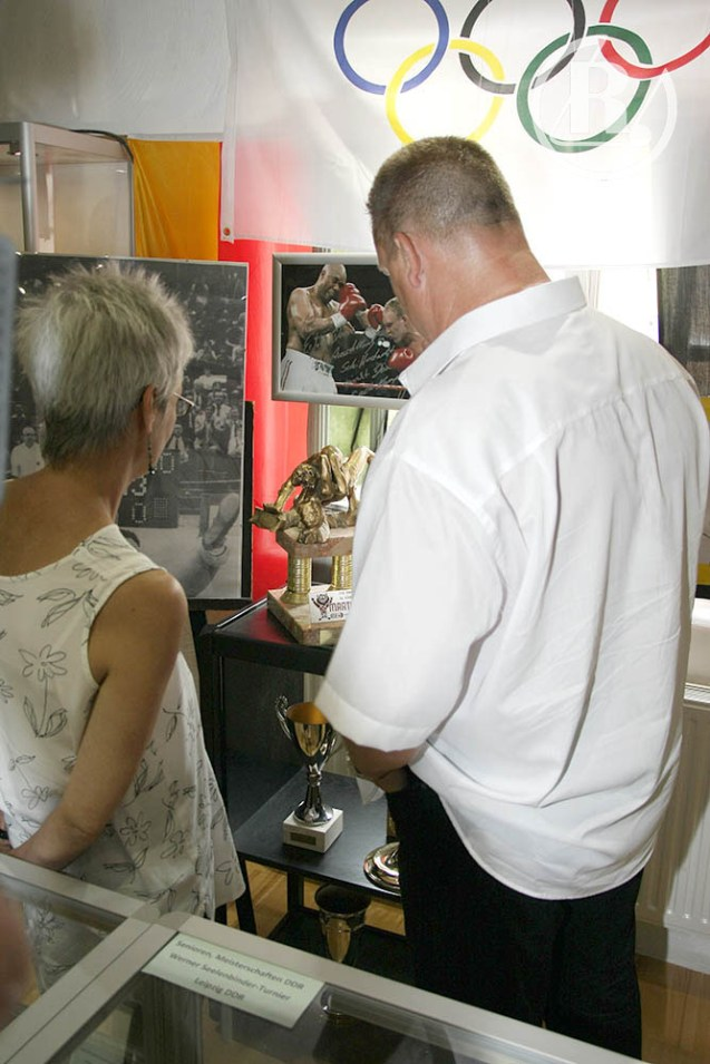 1. Deutsche Ringermuseum zeigt eine Sonderausstellung über Uwe Neupert