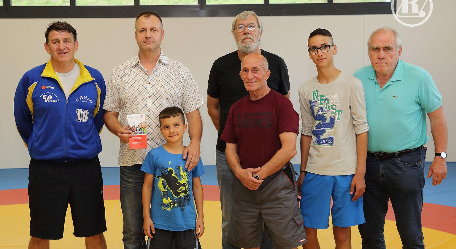 Landessportbund besucht Greizer Ringer
