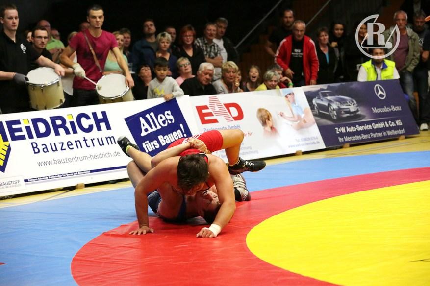 2.Bundesliga Nord: RSV Rotation Greiz gegen KAV Mansfelder Land 13 : 12
