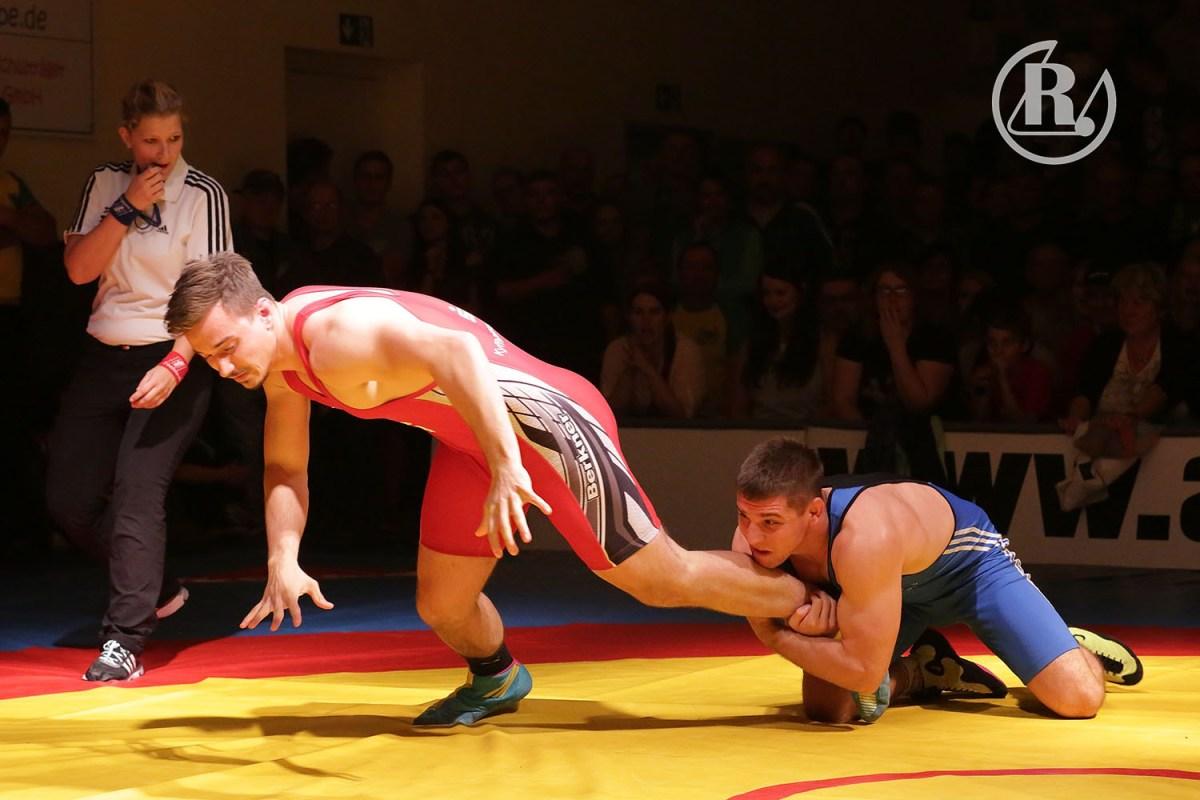 RSV Rotation Greiz: Ringer mit Derbysieg in die Medaillenränge