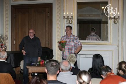 Talk im Schloss mit Welt- und Europameister Uwe Neupert