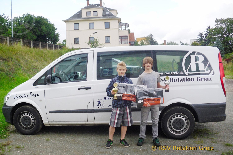 Ron Watzek und Lars Koßmann gehen an die Sportschule Jena