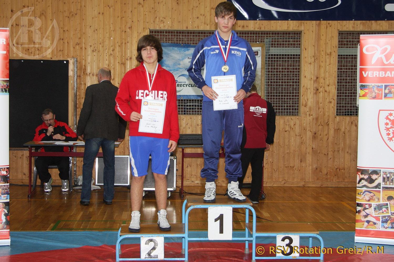 Thüringer Ringer – Landesmeisterschaften der Männer, sowie der A-, B- und C-Jugend im Freistil in Jena