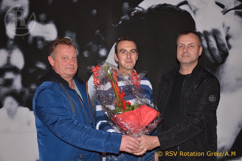 RSV Rotation Greiz gratuliert langjährigem Sponsor