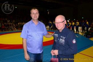 RSV Rotation: Neue Sponsoren beim Greizer Ringerverein