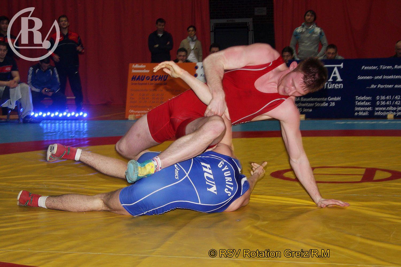 Länderkampf Thüringer Ringer gegen Budapester Juniorenauswahl