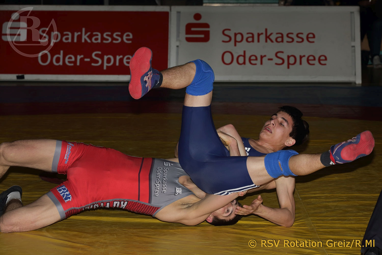 Regionalliga Mitteldeutschland: KG Frankfurt/Eisenhüttenstadt gegen RSV Rotation Greiz  endet 11:20