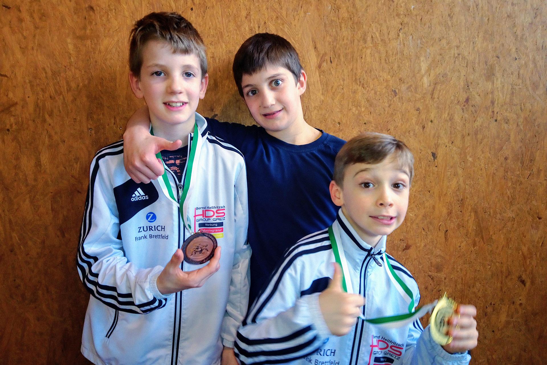 RSV Rotation: Greizer Ringer erkämpfen Gold und Bronze in Pausa