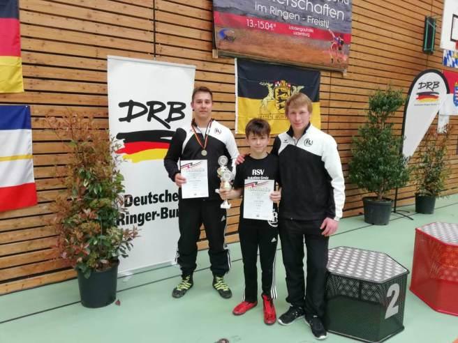 RSV Rotation: Johannes Krause erkämpft dritten Platz bei Deutschen Meisterschaften