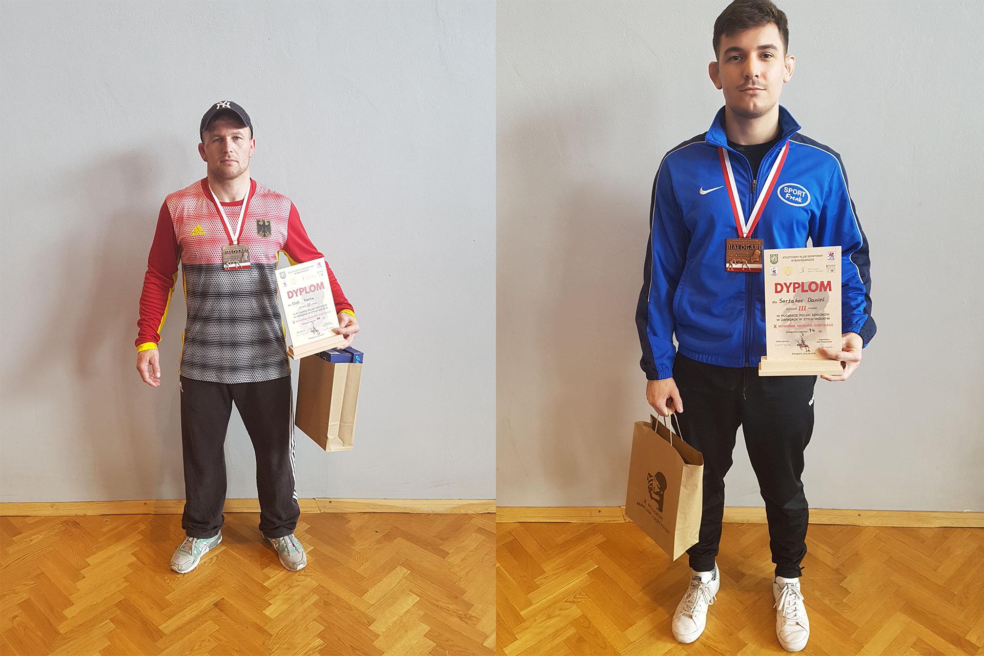 Silber für Obst und Bronze für Sartakov in Bialogard