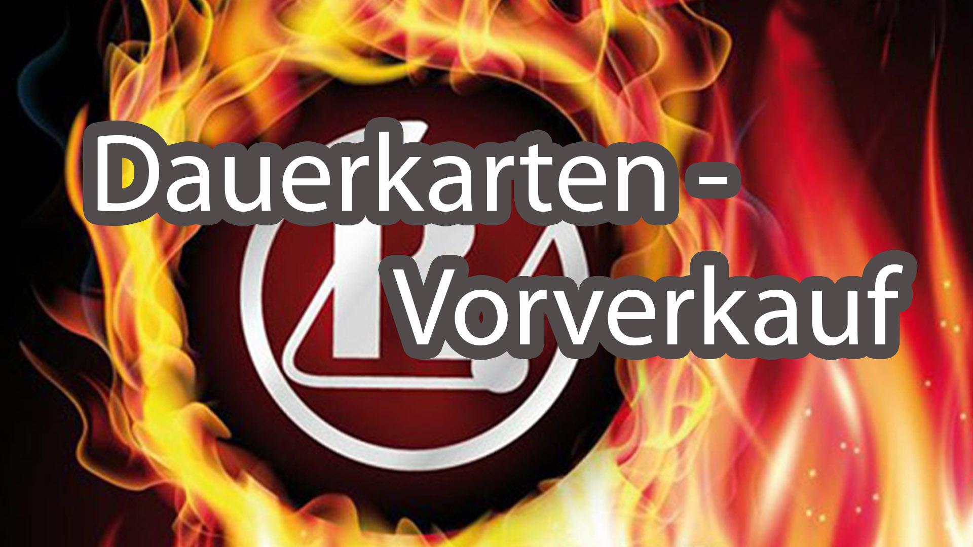 Dauerkartenverkauf für Bundesligakämpfe