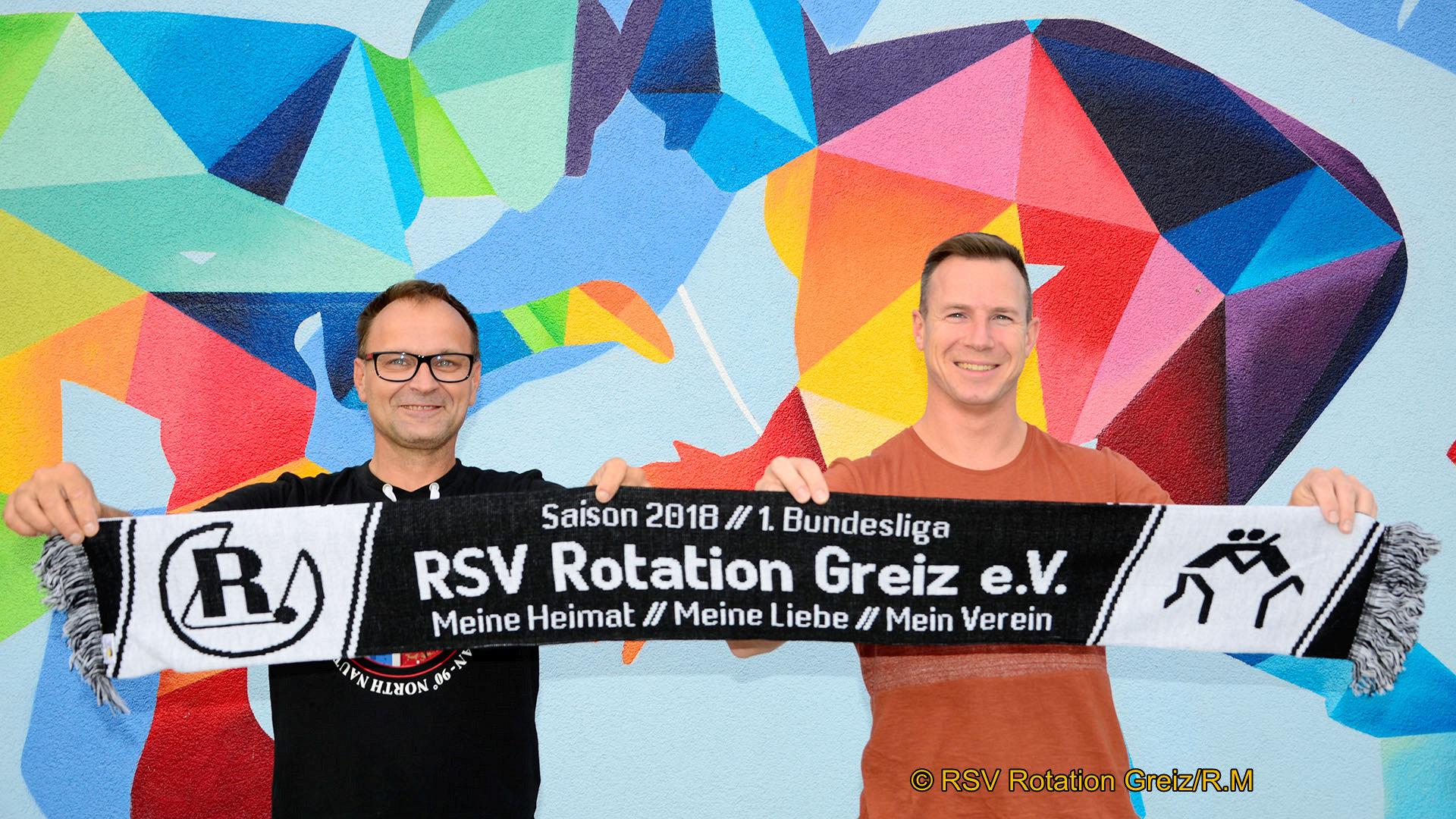 RSV Rotation Greiz: Fanschals zum ersten Heimkampf