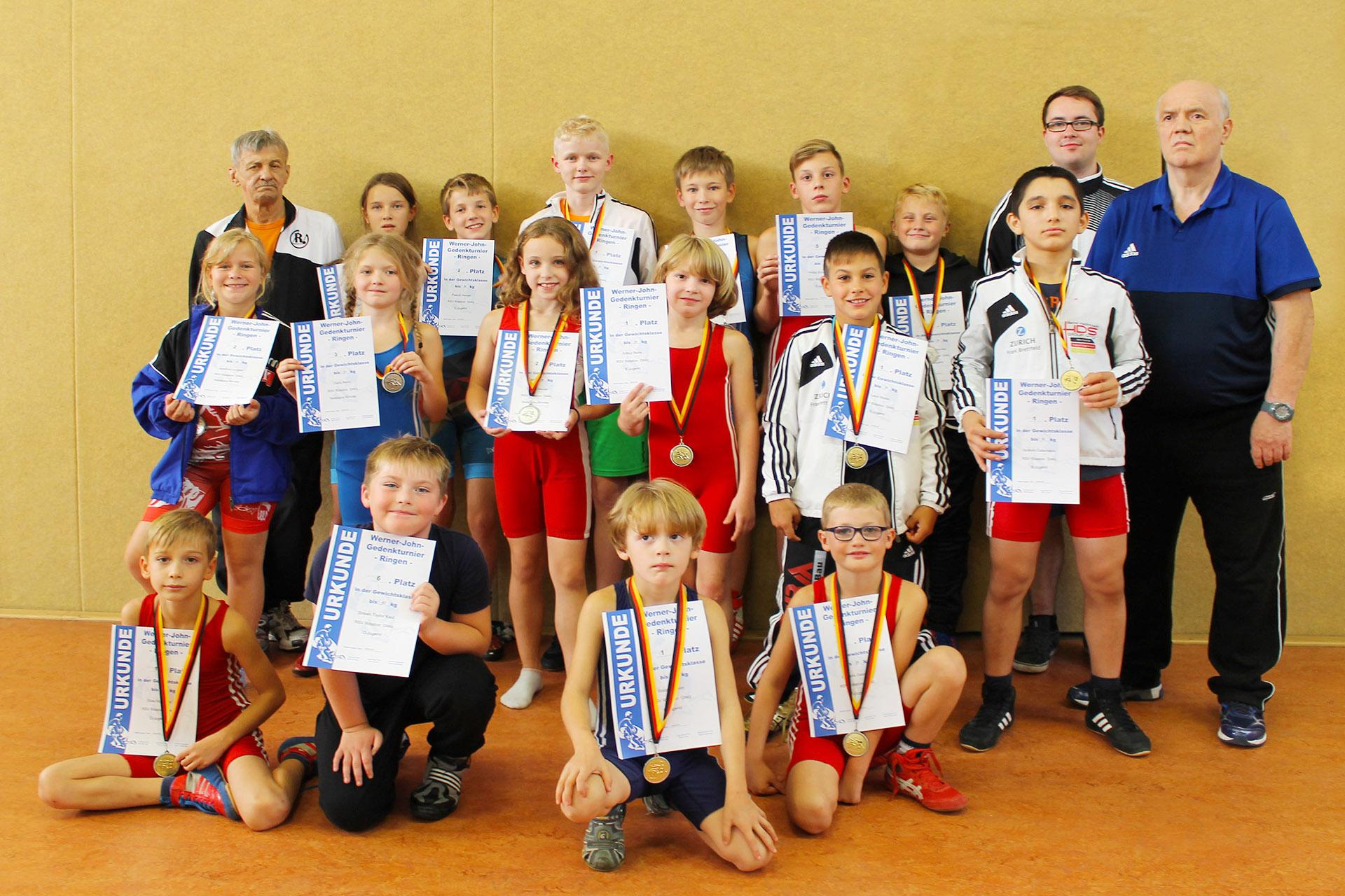 RSV Rotation Greiz: Auch die Greizer Jugendringer starten mit Sieg in neue Saison