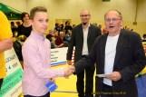 Malte Guthmann (Apolda/4.DM A-Jugend), TRV-Jugendwart Ronny Jurke und Hartmut Reich