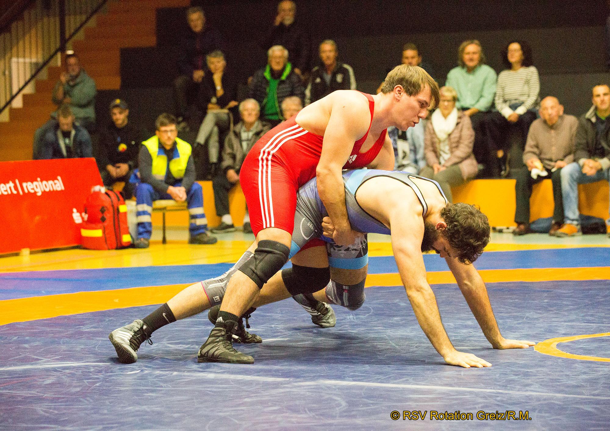 RSV Rotation Greiz II: Dramatische Kämpfe in der Greizer Ringerhalle enden mit knapper Niederlage