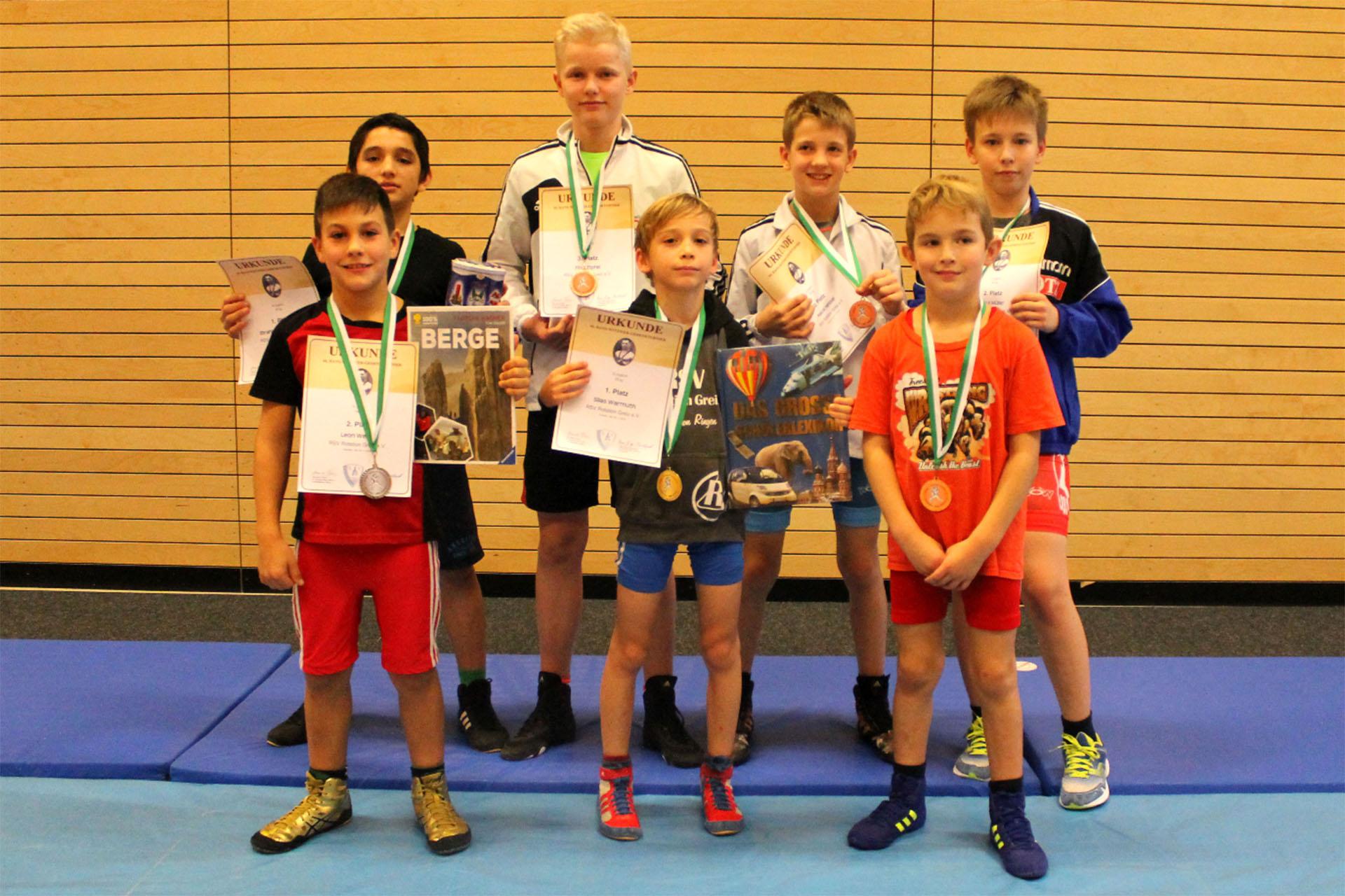 RSV Rotation Greiz: Sieben Starter erkämpfen sieben Medaillen in Dresden