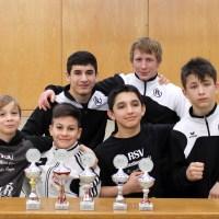 RSV Rotation Greiz: Fünf Medaillen für Greizer Nachwuchsringer in Bayern