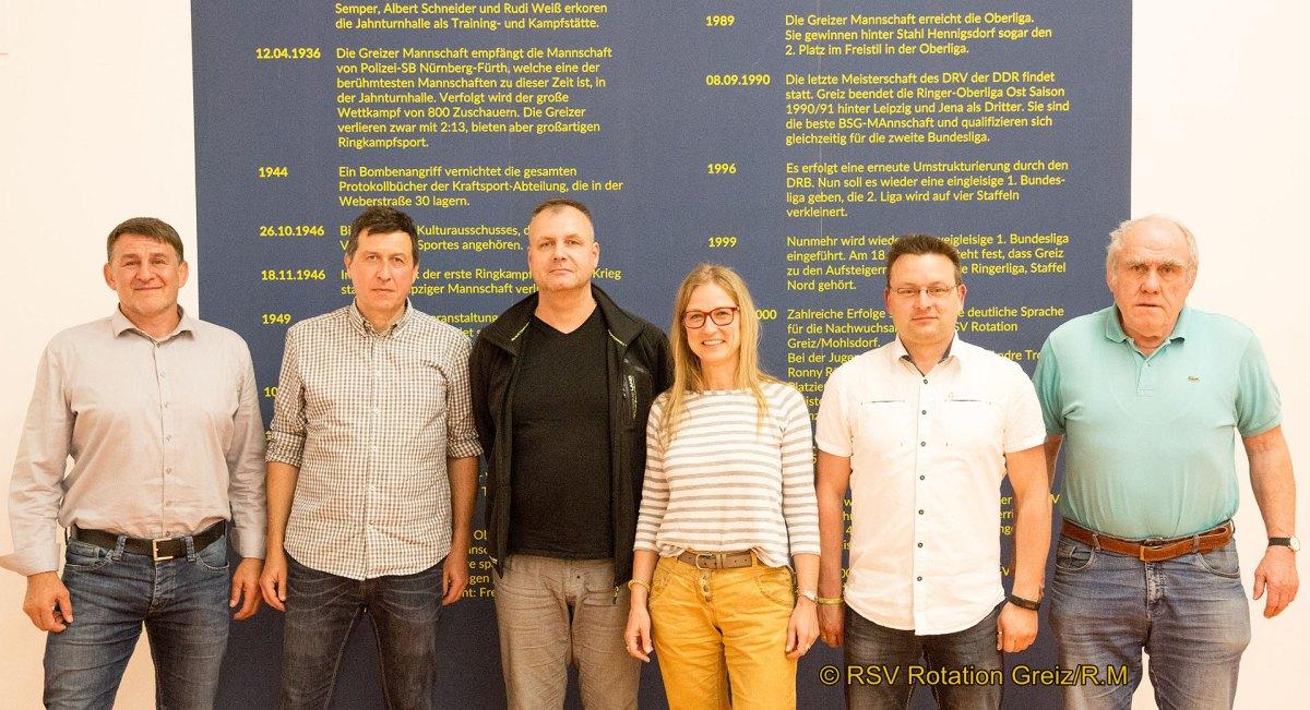 RSV Rotation Greiz: Greizer Vorstandsteam bleibt im Amt